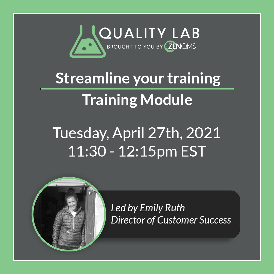 quality lab event april 4