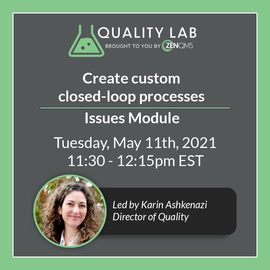 quality lab event may 5